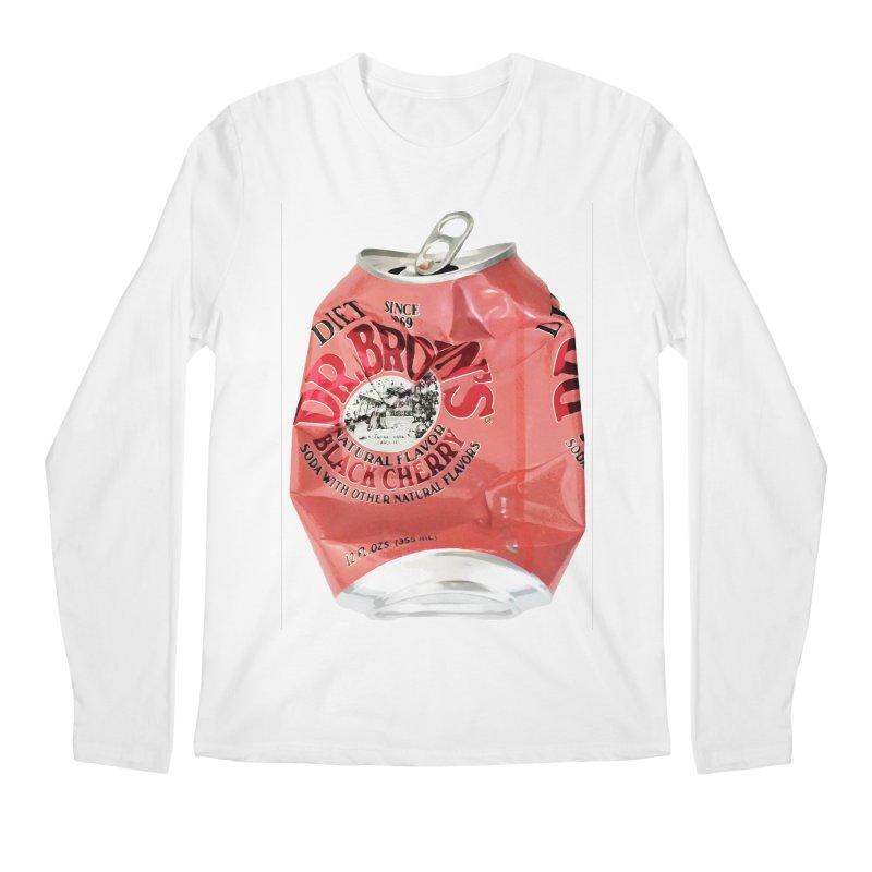 Dr. Brown's Soda Crushed Men's Regular Longsleeve T-Shirt by duocuspdesign Artist Shop