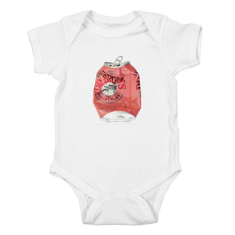 Dr. Brown's Soda Crushed Kids Baby Bodysuit by duocuspdesign Artist Shop