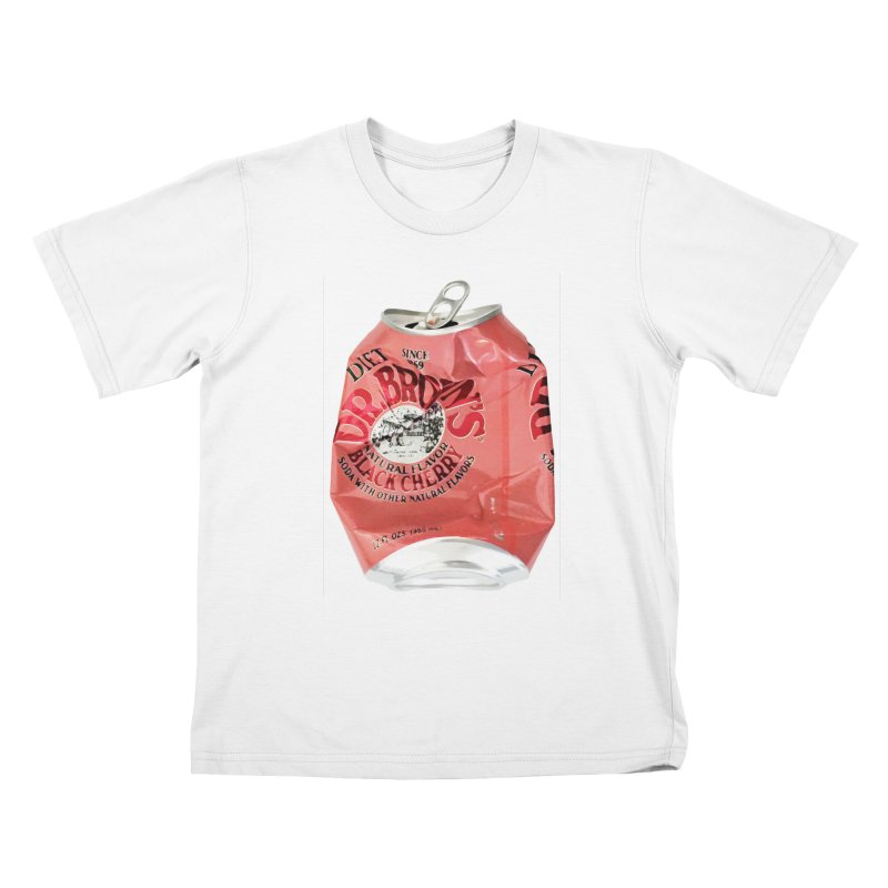 Dr. Brown's Soda Crushed Kids T-Shirt by duocuspdesign Artist Shop