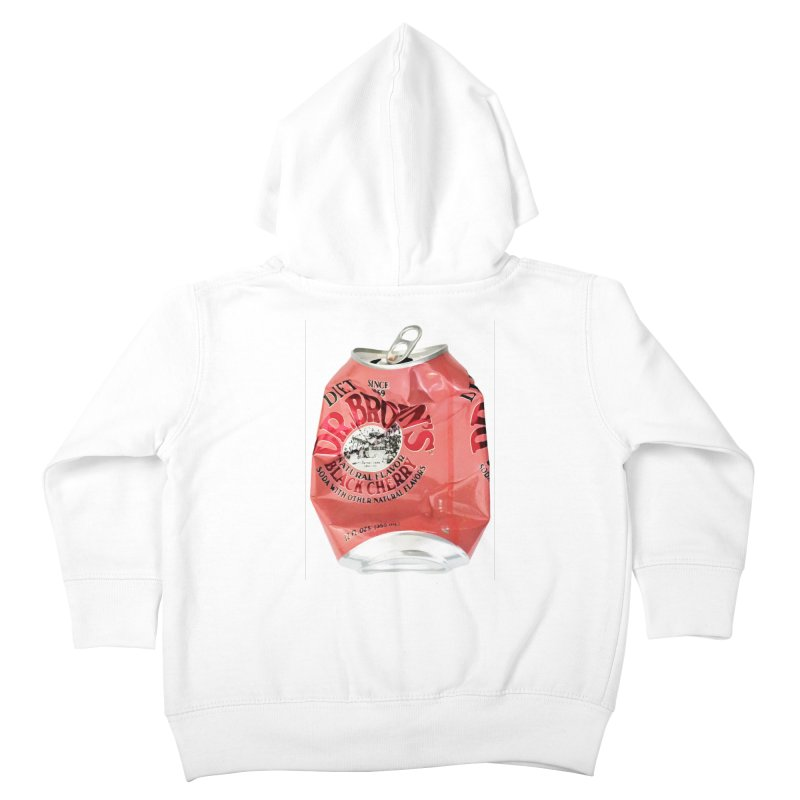 Dr. Brown's Soda Crushed Kids Toddler Zip-Up Hoody by duocuspdesign Artist Shop