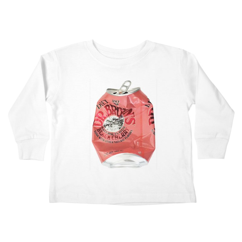 Dr. Brown's Soda Crushed Kids Toddler Longsleeve T-Shirt by duocuspdesign Artist Shop