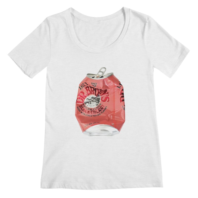 Dr. Brown's Soda Crushed Women's Regular Scoop Neck by duocuspdesign Artist Shop