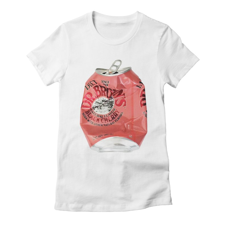 Dr. Brown's Soda Crushed Women's T-Shirt by duocuspdesign Artist Shop
