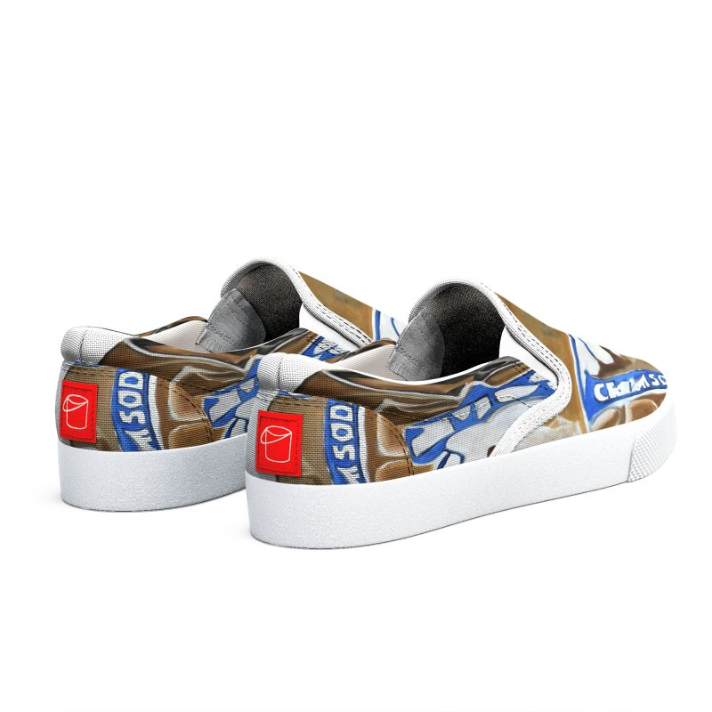 Cream Soda Crushed Men's Shoes by duocuspdesign Artist Shop