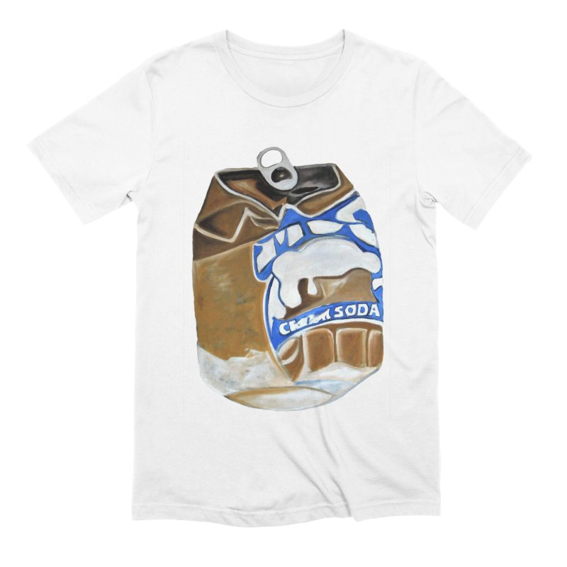 Cream Soda Crushed Men's Extra Soft T-Shirt by duocuspdesign Artist Shop