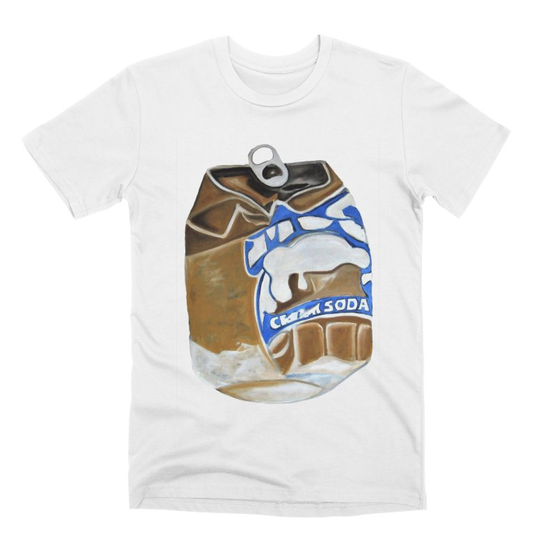 Cream Soda Crushed Men's Premium T-Shirt by duocuspdesign Artist Shop