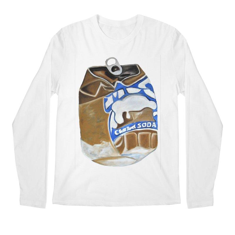 Cream Soda Crushed Men's Regular Longsleeve T-Shirt by duocuspdesign Artist Shop