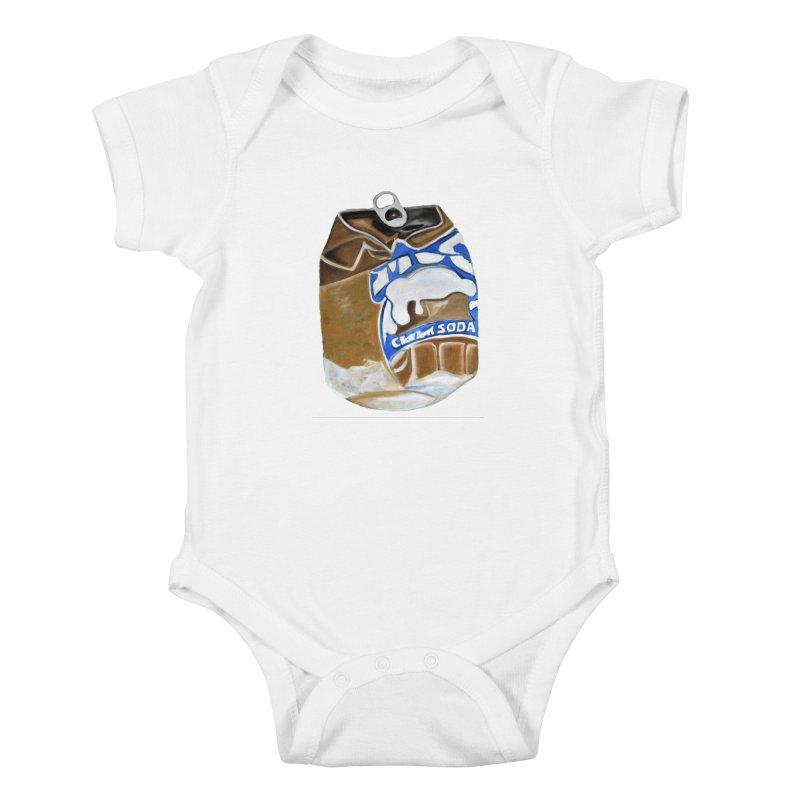 Cream Soda Crushed Kids Baby Bodysuit by duocuspdesign Artist Shop
