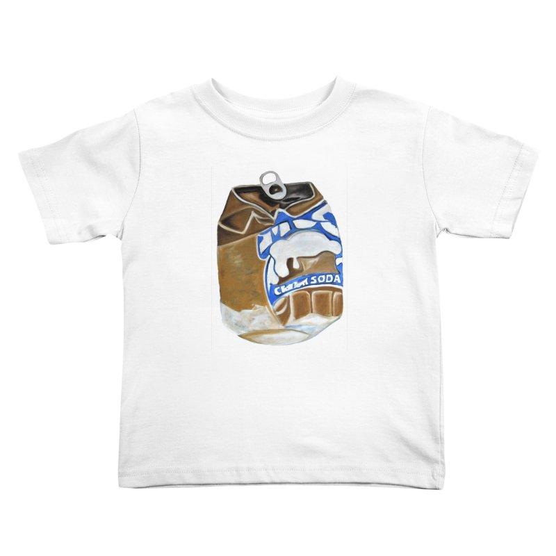 Cream Soda Crushed Kids Toddler T-Shirt by duocuspdesign Artist Shop