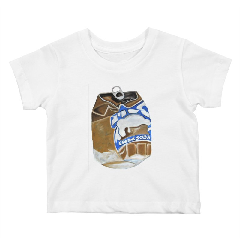Cream Soda Crushed Kids Baby T-Shirt by duocuspdesign Artist Shop