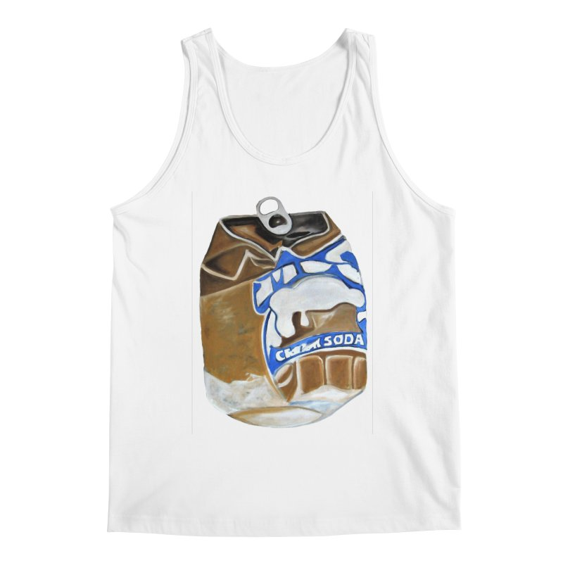 Cream Soda Crushed Men's Tank by duocuspdesign Artist Shop