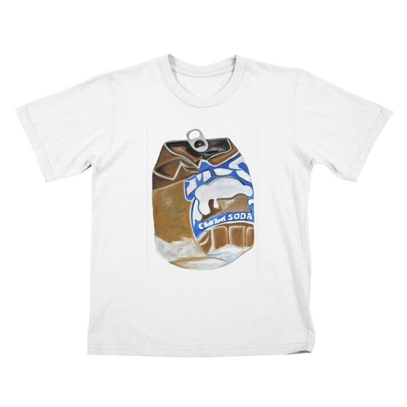 Cream Soda Crushed Kids T-Shirt by duocuspdesign Artist Shop