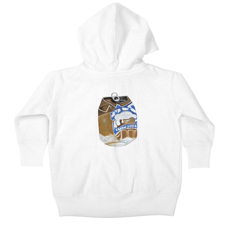 Cream Soda Crushed Kids Baby Zip-Up Hoody by duocuspdesign Artist Shop