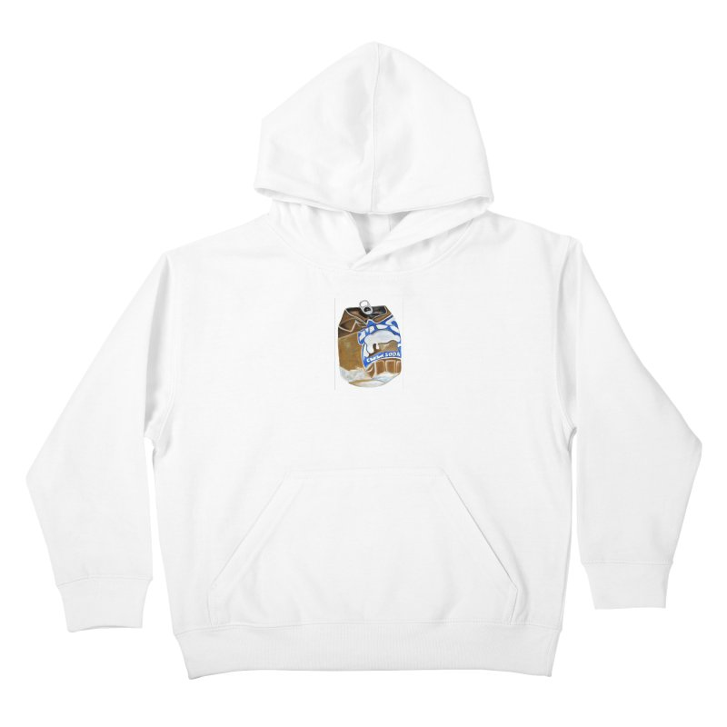 Cream Soda Crushed Kids Pullover Hoody by duocuspdesign Artist Shop