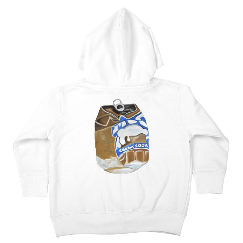 Cream Soda Crushed Kids Toddler Zip-Up Hoody by duocuspdesign Artist Shop