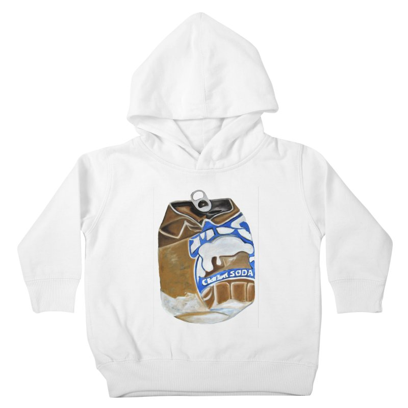 Cream Soda Crushed Kids Toddler Pullover Hoody by duocuspdesign Artist Shop