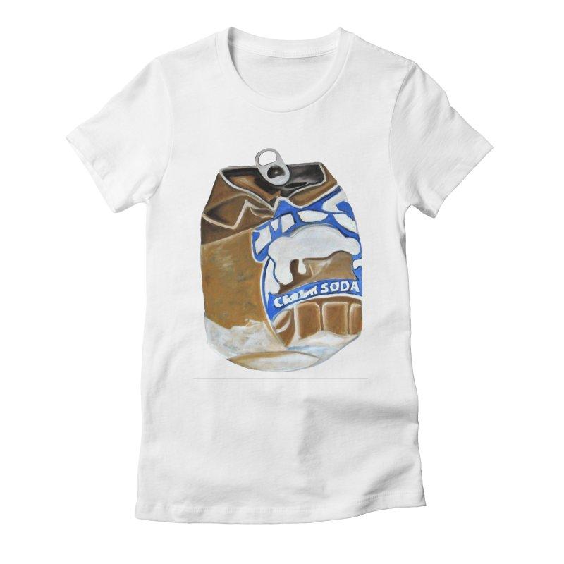 Cream Soda Crushed Women's T-Shirt by duocuspdesign Artist Shop