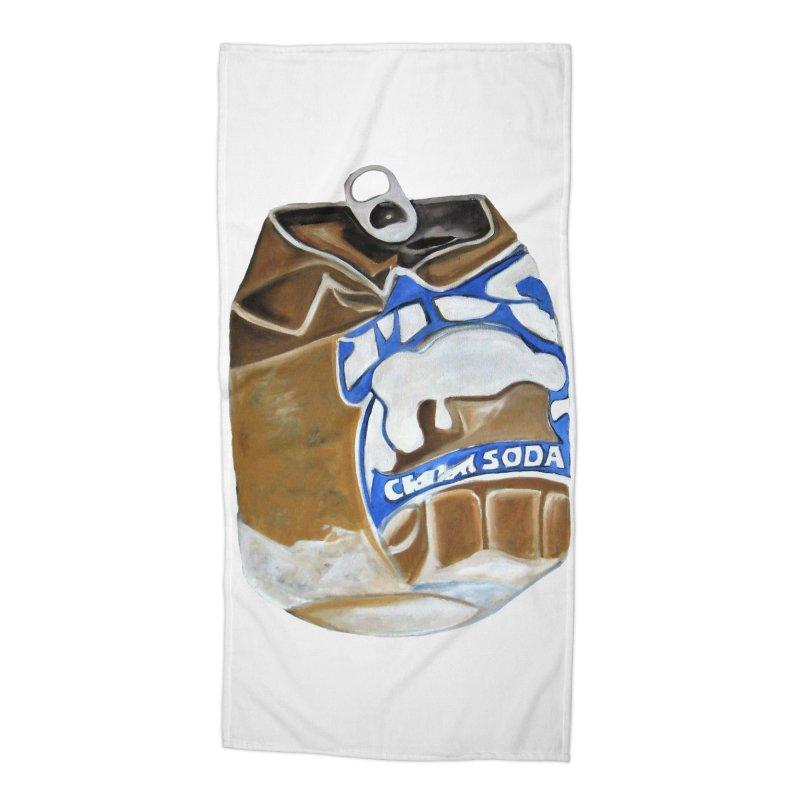 Cream Soda Crushed Accessories Beach Towel by duocuspdesign Artist Shop