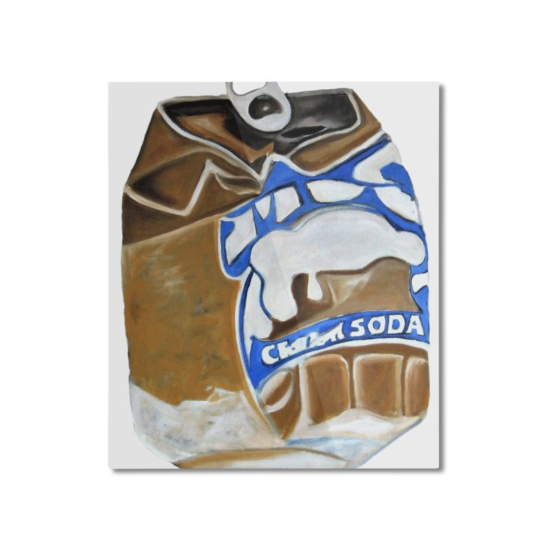 Cream Soda Crushed Home Mounted Aluminum Print by duocuspdesign Artist Shop