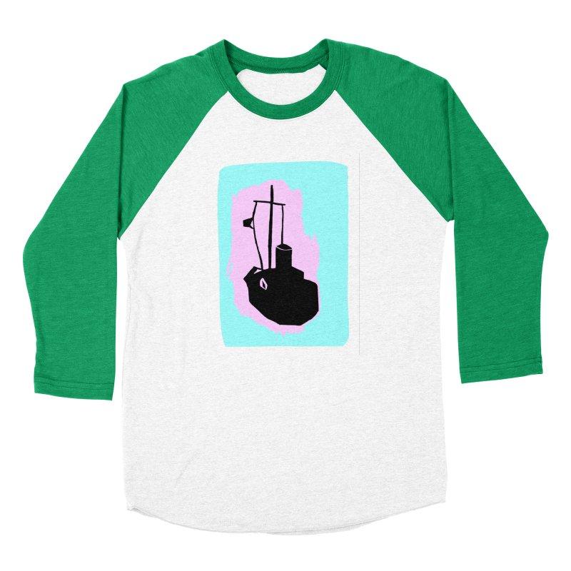 Fishing Boat/Nautical Woodcut Men's Longsleeve T-Shirt by duocuspdesign Artist Shop
