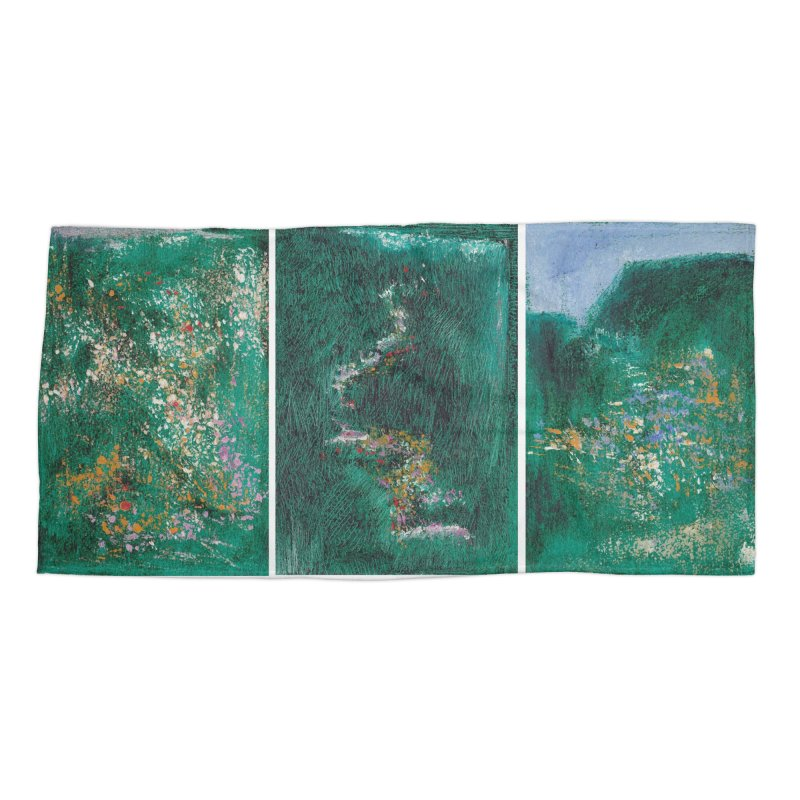 Landscape Triptych Accessories Beach Towel by duocuspdesign Artist Shop