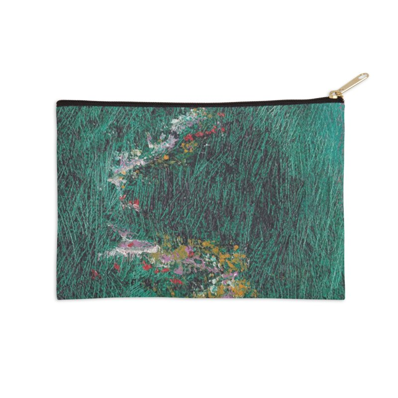 Landscape Triptych Panel B Accessories Zip Pouch by duocuspdesign Artist Shop