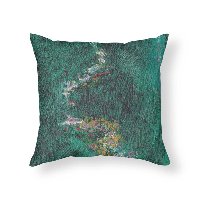 Landscape Triptych Panel B Home Throw Pillow by duocuspdesign Artist Shop