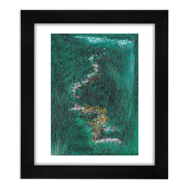 Landscape Triptych Panel B Home Framed Fine Art Print by duocuspdesign Artist Shop