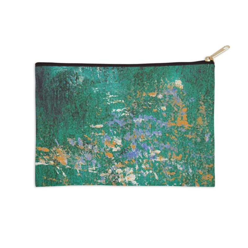 Landscape Triptych Panel C Accessories Zip Pouch by duocuspdesign Artist Shop