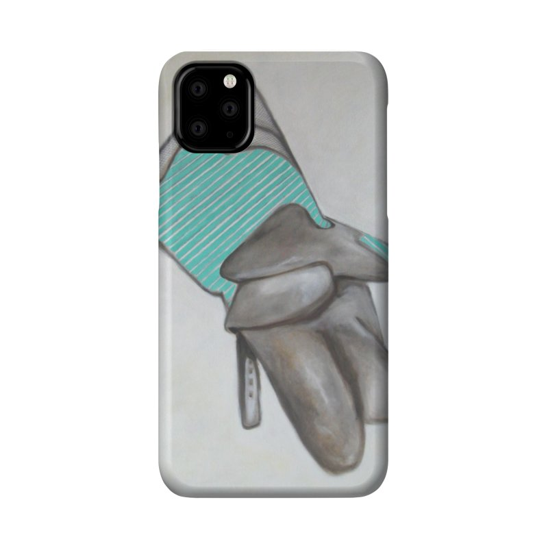 Crushed Triptych Glove Panel B Accessories Phone Case by duocuspdesign Artist Shop