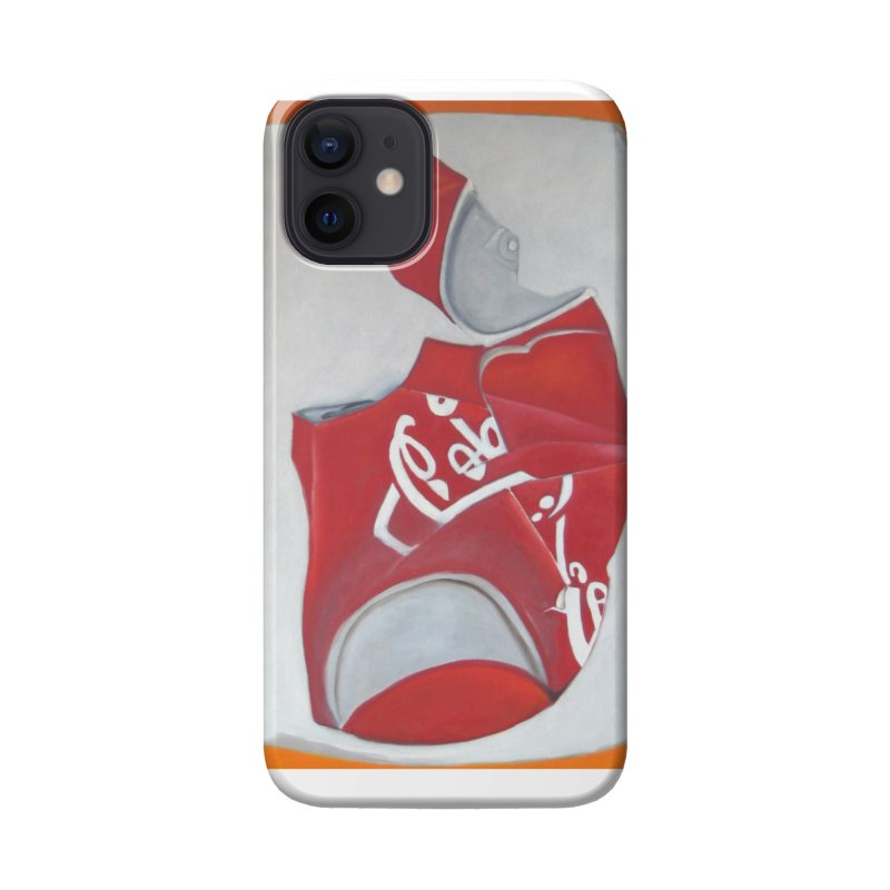 Crushed Triptych Cola Panel C Accessories Phone Case by duocuspdesign Artist Shop