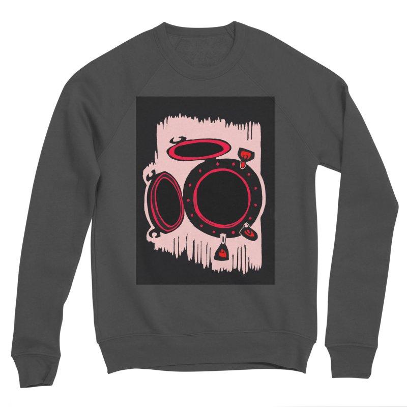 Portal/Nautical Woodcut Women's Sponge Fleece Sweatshirt by duocuspdesign Artist Shop
