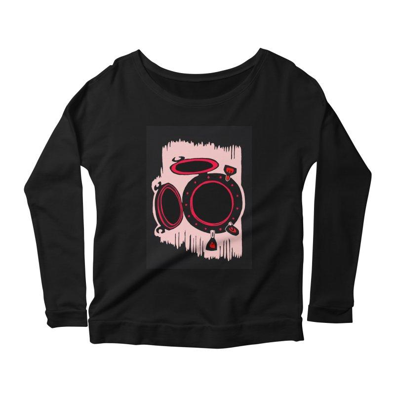 Portal/Nautical Woodcut Women's Longsleeve T-Shirt by duocuspdesign Artist Shop
