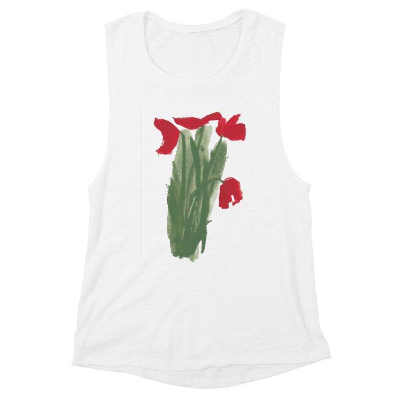 Flowers Women's Tank by duocuspdesign Artist Shop
