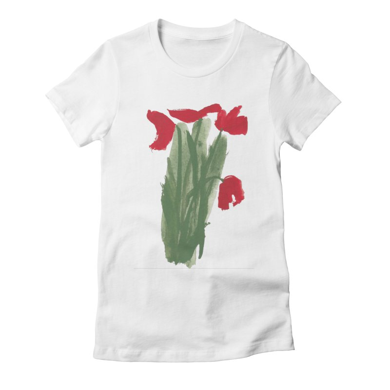 Flowers Women's T-Shirt by duocuspdesign Artist Shop