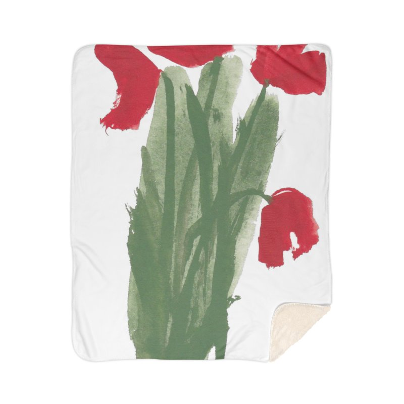 Flowers Home Blanket by duocuspdesign Artist Shop