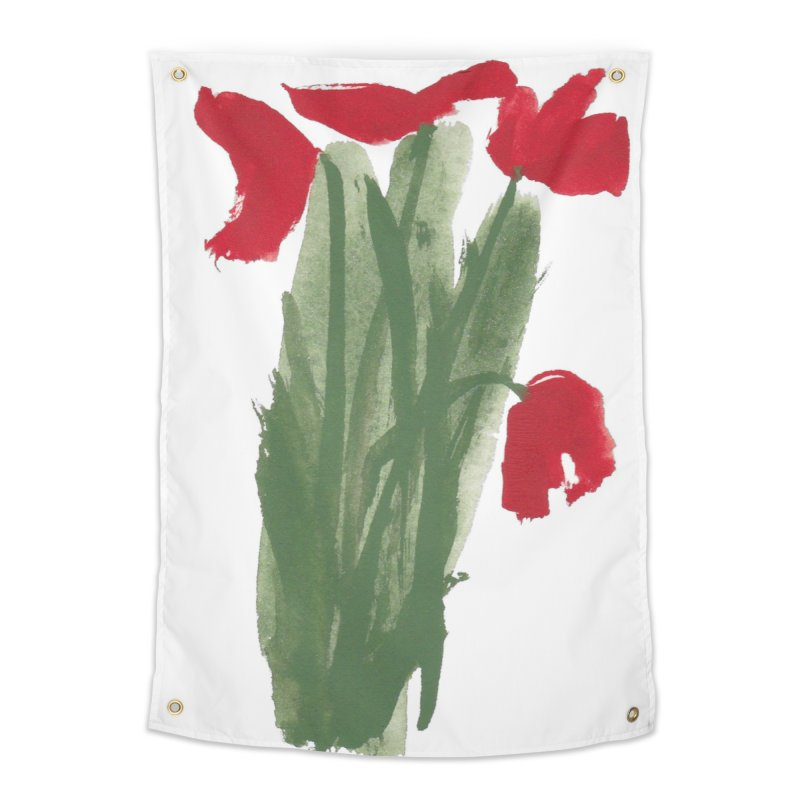 Flowers Home Tapestry by duocuspdesign Artist Shop