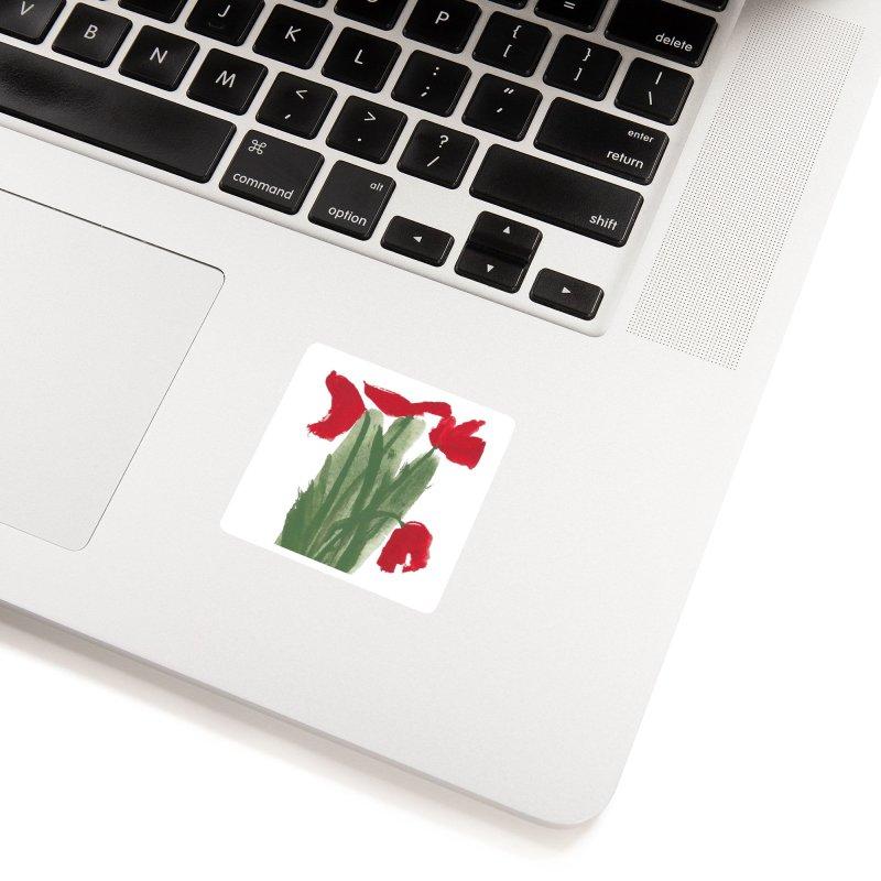 Flowers Accessories Sticker by duocuspdesign Artist Shop