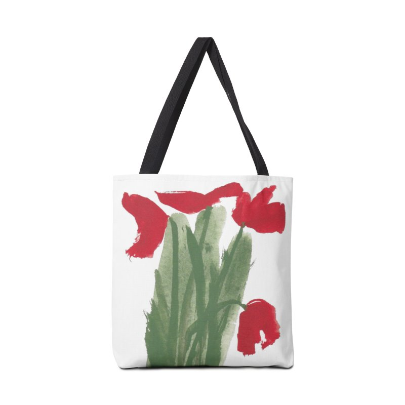 Flowers Accessories Bag by duocuspdesign Artist Shop