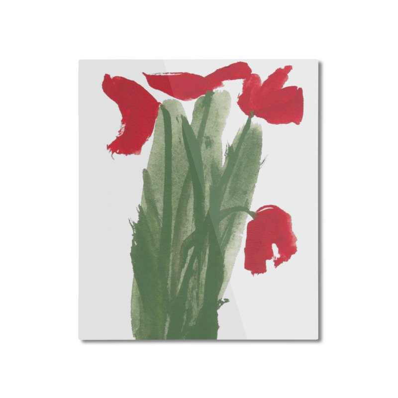 Flowers Home Mounted Aluminum Print by duocuspdesign Artist Shop