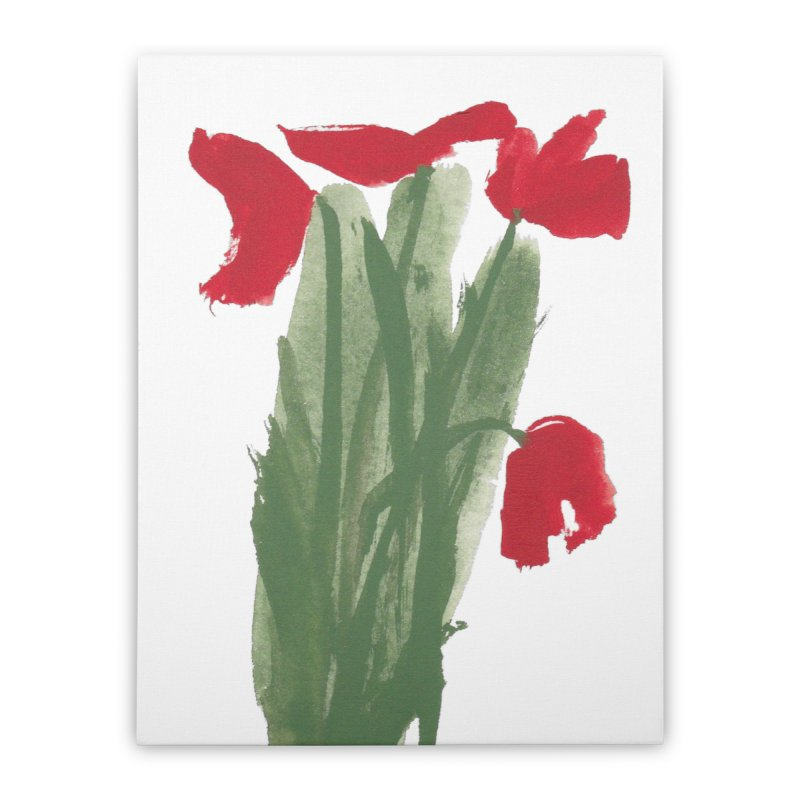 Flowers Home Stretched Canvas by duocuspdesign Artist Shop