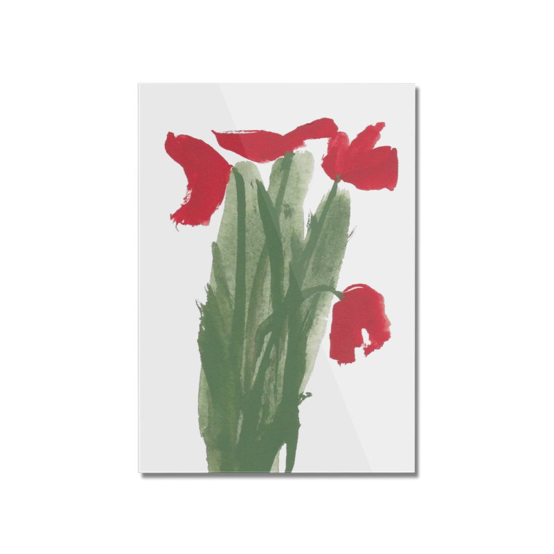Flowers Home Mounted Acrylic Print by duocuspdesign Artist Shop