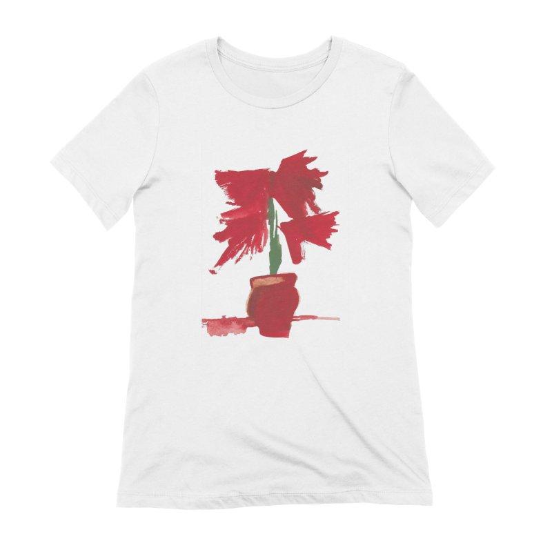 Flowers Women's Extra Soft T-Shirt by duocuspdesign Artist Shop