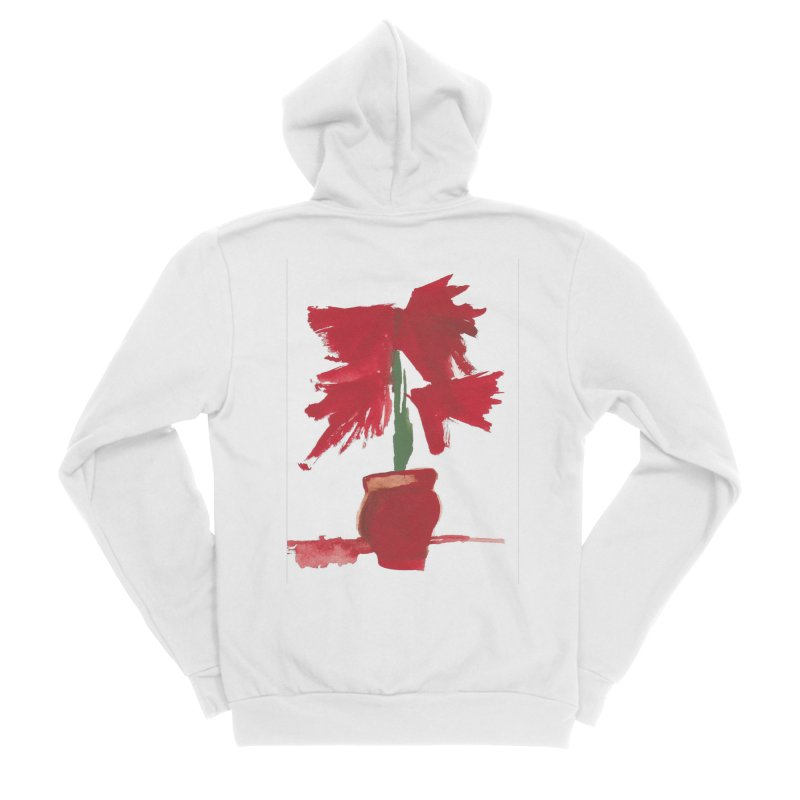Flowers Women's Zip-Up Hoody by duocuspdesign Artist Shop