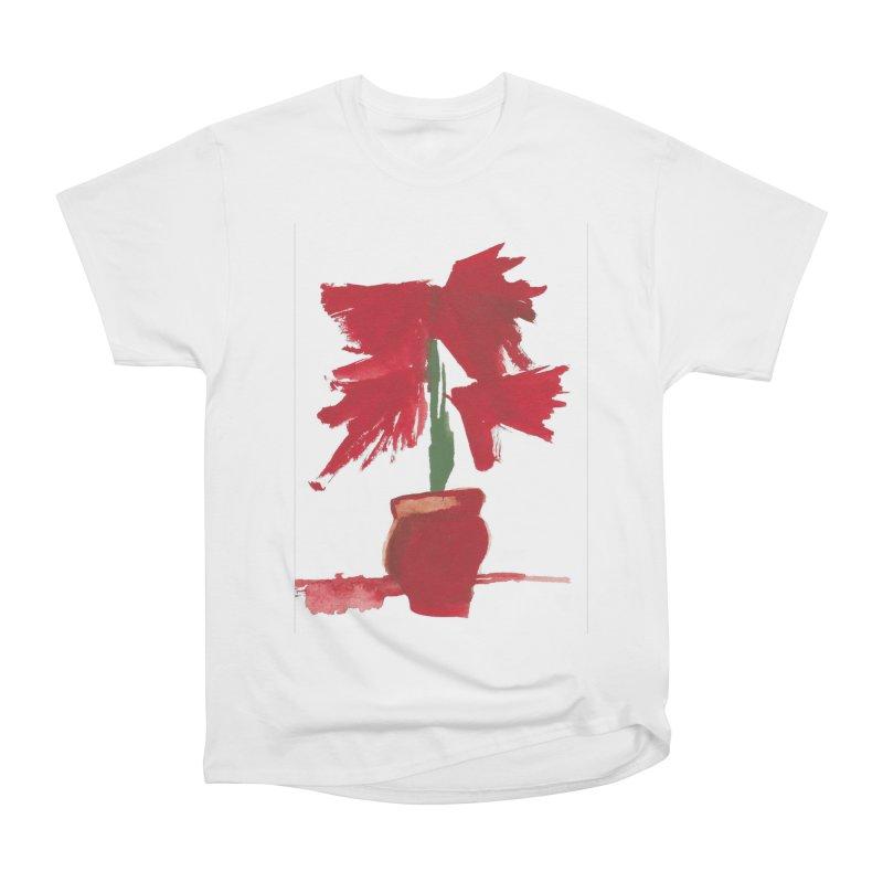 Flowers Women's Heavyweight Unisex T-Shirt by duocuspdesign Artist Shop
