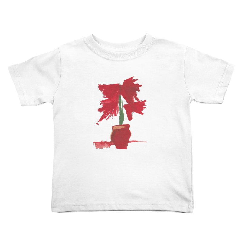 Flowers Kids Toddler T-Shirt by duocuspdesign Artist Shop
