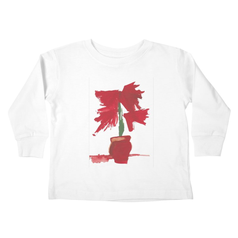 Flowers Kids Toddler Longsleeve T-Shirt by duocuspdesign Artist Shop