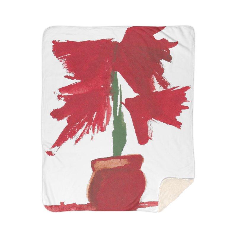 Flowers Home Sherpa Blanket Blanket by duocuspdesign Artist Shop