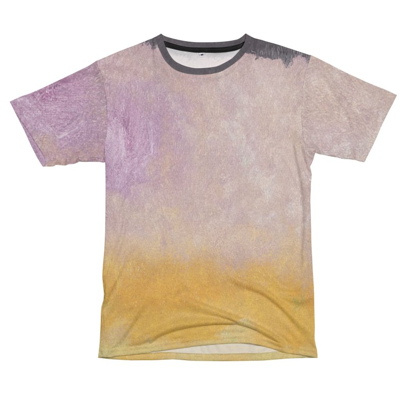 Landscape #8 Men's French Terry T-Shirt Cut & Sew by duocuspdesign Artist Shop
