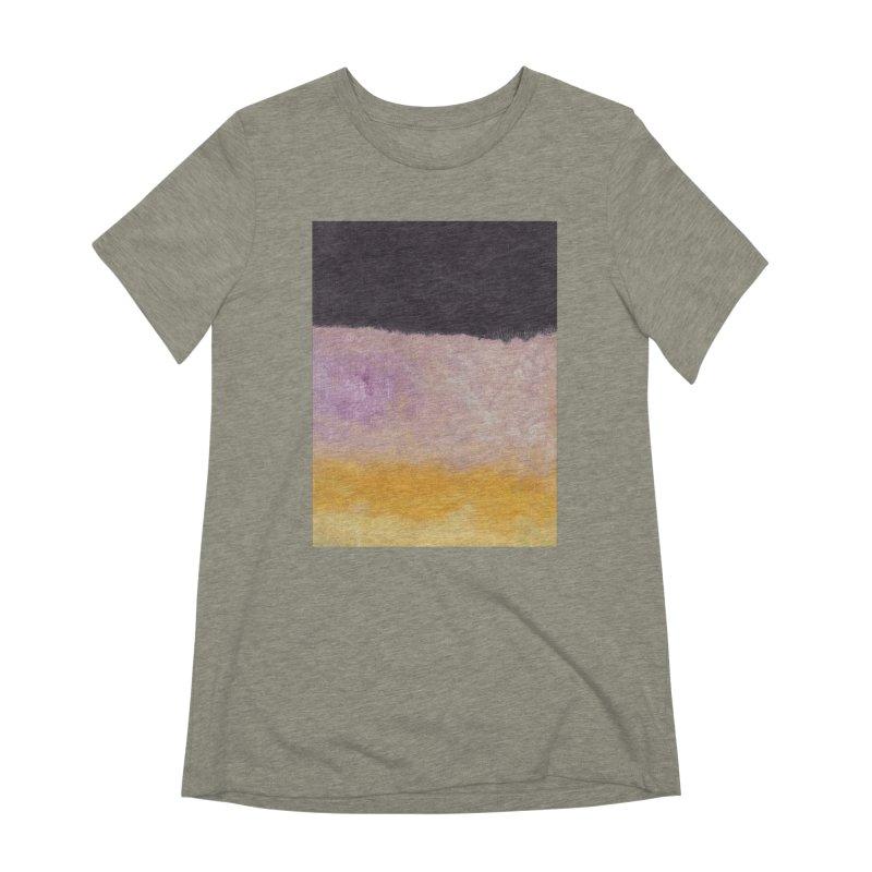 Landscape #8 Women's Extra Soft T-Shirt by duocuspdesign Artist Shop
